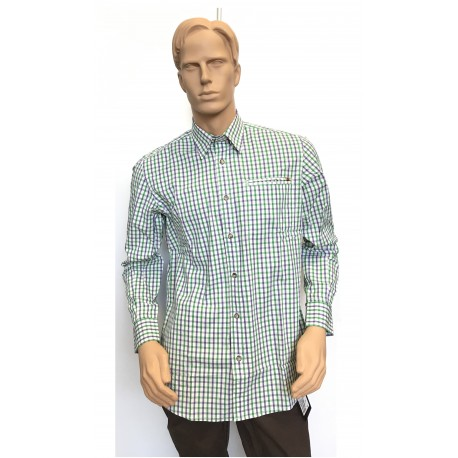 WOOD PLAIN COLLAR SHIRT