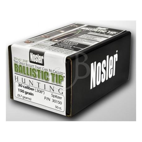 PALLE NOSLER BALLISTIC TIP 30 - 150 Gr