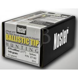 PALLE NOSLER BALLISTIC TIP 270 - 140 Gr
