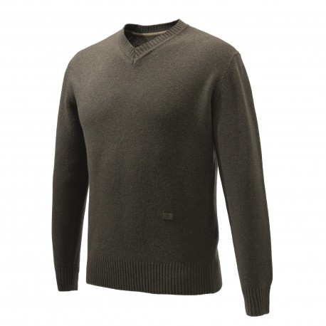 PHEASANT V NECK SWEATER